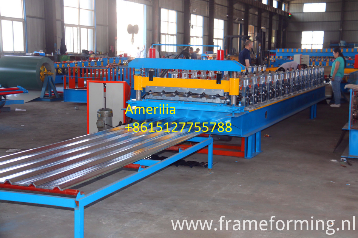 Trapezoidal shape machine
